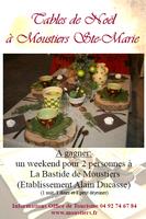 Tables de Noël à Moustiers-Sainte-Marie (04) | Concours et Exposition des tables 2012