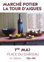1er mai 2013 | Marché potier à la Tour d'Aigues (84))