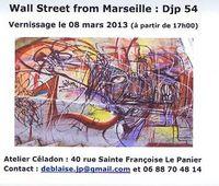 8 au 31 mars 3013 | Exposition de JP Deblaise à l'Atelier Celadon à Marseille (13)