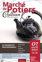 7 avril 2013 | Marché Potiers à Callian (83)