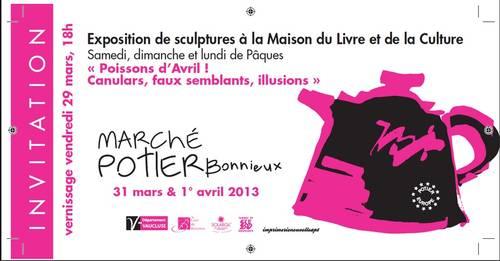 30 mars au 1 avril 2013 | Exposition de Sculptures à Bonnieux (83)