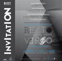 13 avril au 30 juin 2013 | Exposition Recto Verso à Biot (06)