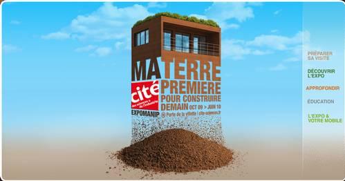 Ma terre première, exposition à la Cité de la Villette jusqu'en juin 2010