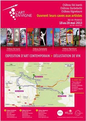 18 au 20 mai 2013 | L'Art en Vigne autour d'Aix-en-Provence (13)