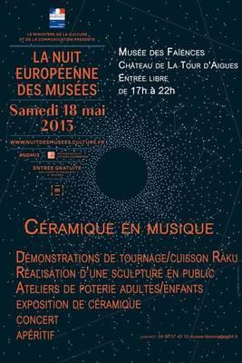 18 mai 2013 | La Nuit des Musée au Château de la Tour d'Aigues (84)