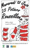 12 juin 2013 | Marché potier de Roussillon (84)