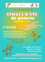 Vacances d'été 2013 | Stages enfants à Saint-Zacharie (83)