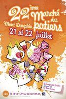 20 et 21 juillet 2013 | Marché Potier à Mont-Dauphin (05)