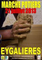 21 juillet 2013 | Marché Potier à Eygalières (13)