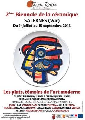 1er juillet au 15 septembre 2013 | Biennale de la céramique à Salernes (83)