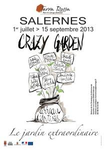 1er juillet au 15 septembre 2013 | Crazy Garden à Salernes (83)
