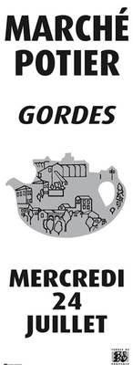 24 juillet 2013 | Marché Potiers de Gordes (84)