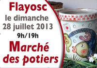 28 juillet 2013 | Marché potiers de Flayosc (83)
