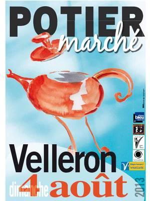 4 août 2013 | Marché potiers de Velleron (83)