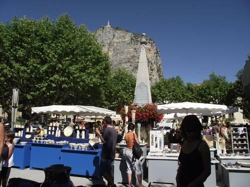 8 août 2013 | Marché Potiers à Castellane (04)