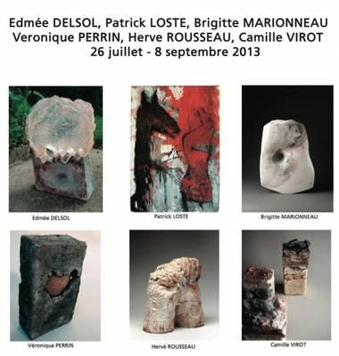 Du 26 juillet au 8 septembre 2013   Exposition céramique Galerie 22 à Coustellet (84)