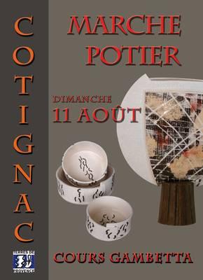 11 août 2013 | Marché potiers de Cotignac (83)