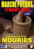 11 août 2013 | Marché potiers à Mouriès (13)