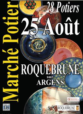 25 août 2013   Marché potiers de Roquebrune-sur-Argens