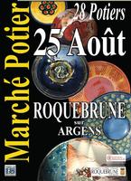 25 août 2013 | Marché potiers de Roquebrune-sur-Argens