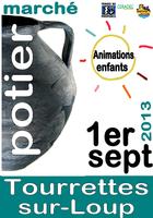 1er septembre 2013 | Marché potier de Tourettes-sur-Loup (06)