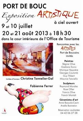 20 et 21 août 2013 | Exposition de céramiques à Port de Bouc (13)