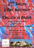 Du 30 août au 7 sept. | Deux céramistes au salon d'art abstrait de Crillon le Brave (84)