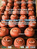 Jusqu'au 14 oct 2013 | Exposition Céramique, the summer Show 2013 à Barjols (83)