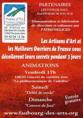 Du 13 au 15 sept. 2013 | Céramique au salon métiers d'art | Roquevaire (13)