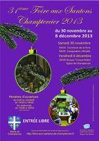 du 30 novembre au 8 décembre 2013 | 31ème Foire aux santons à Champtercier (04)
