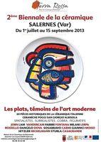 jusqu'au 31 octobre | 2ème biennale de la céramique à Salernes (83)