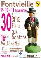 Du 9 au 11 novembre 2013 | marché de Noël et foire aux santons à Fontvieille (13)