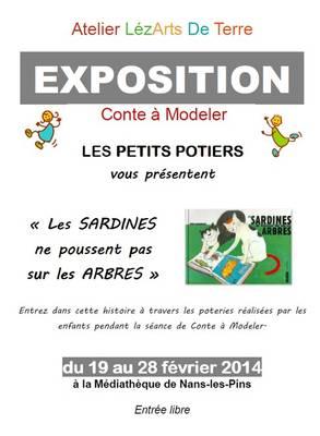 Exposition Conte à modeler avec Stéphanie Pettinato | du 19 au 28 février 2014