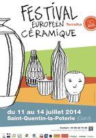 du 11 au 14 juillet 2014 | 30 ans de Terralha | Festival Européen des Arts Céramiques | Saint-Quentin-la-Poterie (30)