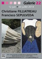 du 12 juin au 20 juillet 2014 | Exposition Galerie 22 | Christiane Filliatreau | Coustellet (84)