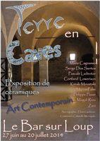 du 27 juin au 20 juillet | Exposition céramique Terre en caves | Le Bar sur Loup (06)