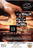 le 13 juillet 2014 | marché potier à Vaison la Romaine (84)