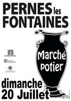 le 20 juillet 2014 | Marché potier à Pernes les Fontaines (84)