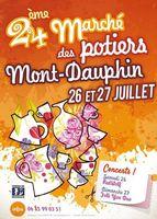 les 26 et 27 juillet 2014 | Marché potier de Mont-Dauphin (05)