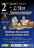 les 25 et 26 octobre 2014 | 2ème Salon de l'art santonnier à Nîmes (30)