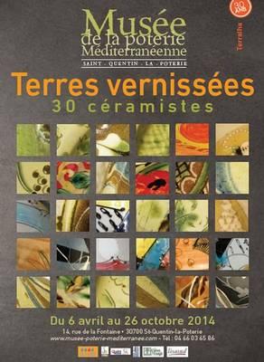 jusqu'au 30 oct. 2014 | Terre vernissée, 30 céramistes | Musée de la poterie méditerranéenne à Saint Quentin (30)