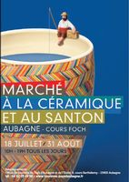 du 18 juillet au 31 août 2014 | Marché à la céramique et aux santons à Aubagne (13)du 18 juillet au 31 a