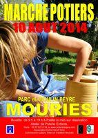 le 10 août 2014 | marché potier à Mouriès (13)