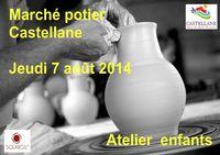 le 7 août 2014 | Marché potier à Castellane (04)