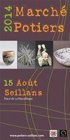 le 15 août 2014 | Marché potier à Seillans (83)