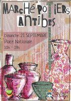 le 21 septembre 2014 | Marché potier à Antibes (06)