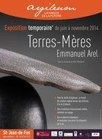 Jusqu'au 2 novembre 2014  le céramiste E. Arel expose chez Argileum à Saint Jean de Fos (30)