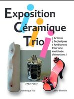 jusqu'au 17 août 2014 | Exposition Céramique Trio | Galerie de la Fraternité à Aubagne (13)