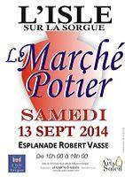 le 13 septembre 2014 | Marché potier à l'Isle sur la Sorgue (84)