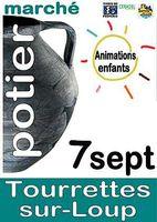 le 7 septembre 2014 | Marché potier de Tourrettes sur Loup (06)